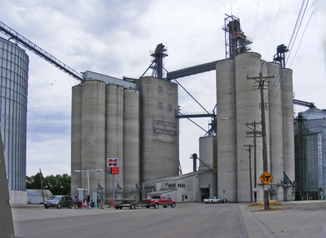 Grain elevators, Wood Lake Minnesota, 2011