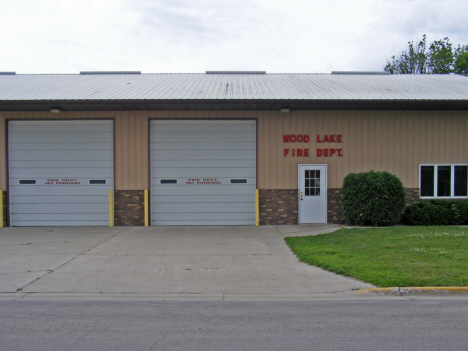 Fire Department, Wood Lake Minnesota, 2011