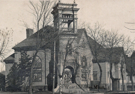 First Methodist Episcopal Church, Worthington Minnesota, 1908