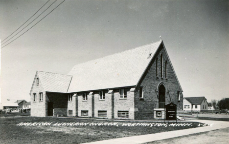 American Lutheran Church, Worthington Minnesota, 1950's