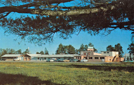 Town and Country Motel and Cafe, McGregor Minnesota, 1960's
