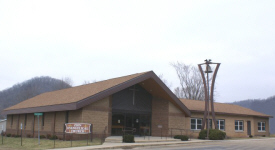Zion Evangelical Church, Brownsville Minnesota