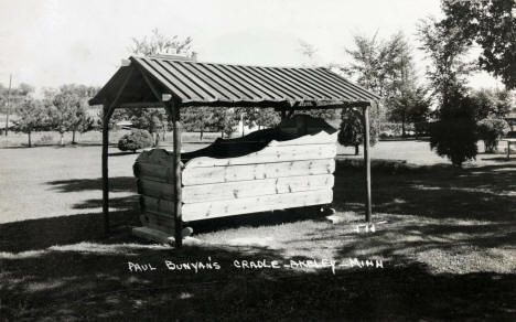 Paul Bunyan's Cradle, Akeley Minnesota, 1956