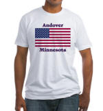 Andover Flag Fitted T-Shirt