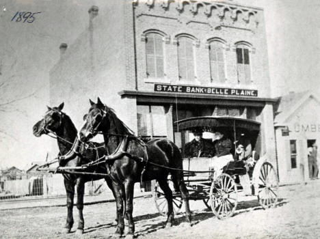 State Bank of Belle Plaine Minnesota, 1895
