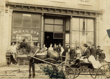William Bailey's Store, Belle Plaine Minnesota, 1903