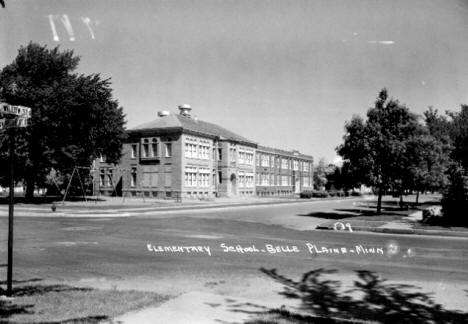 Elementary School, Belle Plaine, Minnesota, 1950