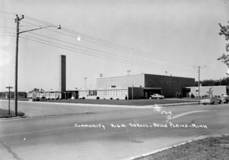 Community High School, Belle Plaine, Minnesota, 1950