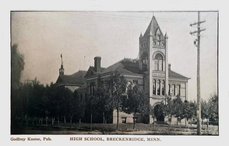 High School, Breckenridge Minnesota, 1907