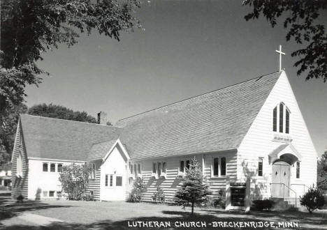 Lutheran Church, Breckenridge Minnesota, 1950's