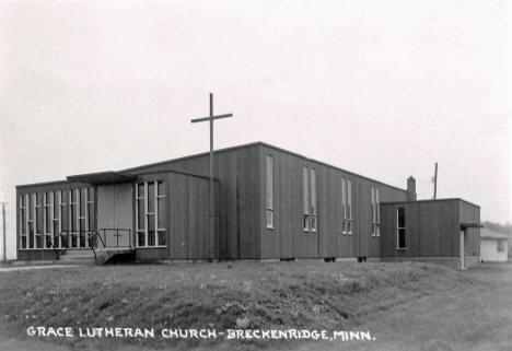 Grace Lutheran Church, Breckenridge Minnesota, 1960