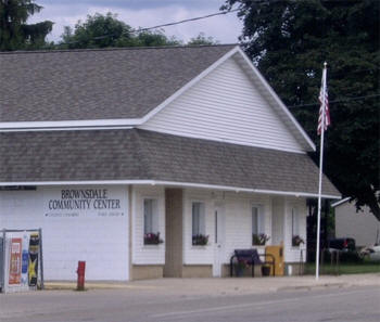 Brownsdale Community Center, Brownsdale Minnesota