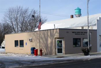 US Post Office, Brownsdale Minnesota