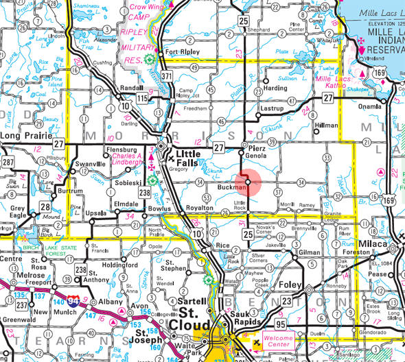 Guide to Buckman Minnesota