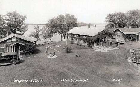 Hickory Lodge, Crosby Minnesota, 1930's