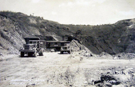 Mahnomen Mine, Crosby Minnesota, 1950's