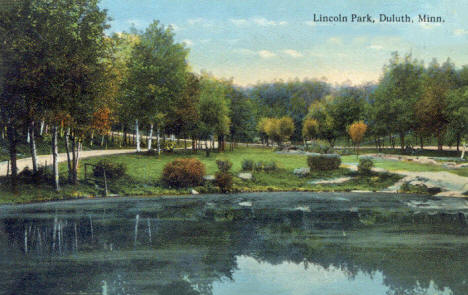 Lincoln Park, Duluth Minnesota, 1916