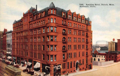 The Spalding Hotel, Duluth Minnesota, 1911