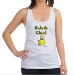 Duluth Chick Racerback Tank Top