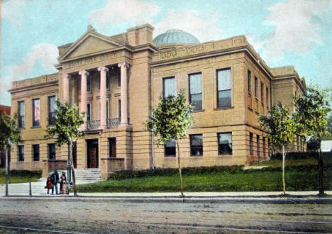 Public Library, Duluth Minnesota, 1905