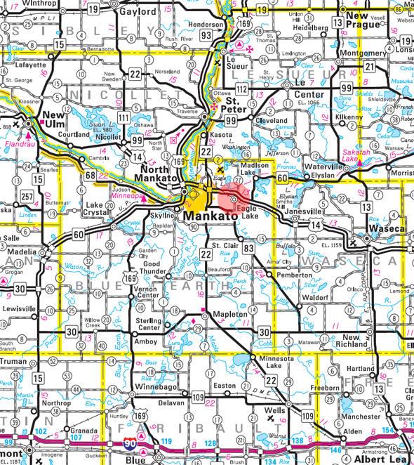 eagle lake mn map Guide To Eagle Lake Minnesota eagle lake mn map