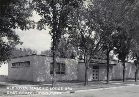 Red River Masonic Lodge, East Grand Forks Minnesota, 1950's