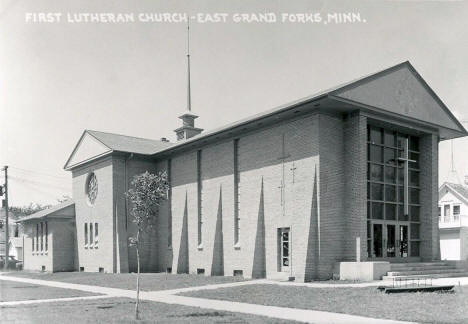 First Lutheran Church, East Grand Forks Minnesota, 1950's