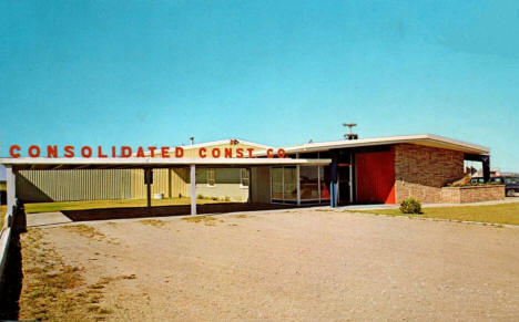 Consolidated Construction Company, East Grand Forks Minnesota, 1960's