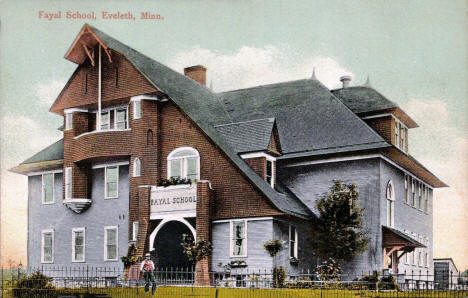 Fayal School, Eveleth Minnesota, 1911