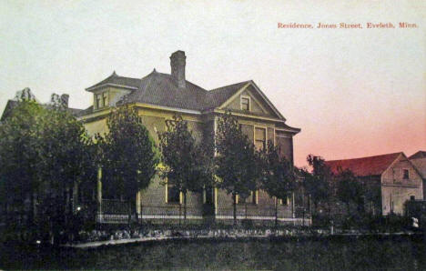 Residence, Jones Street, Eveleth Minnesota, 1908