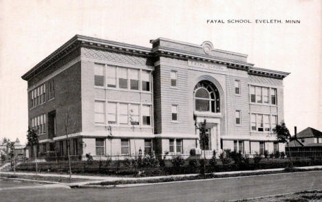 Fayal School, Eveleth Minnesota, 1916