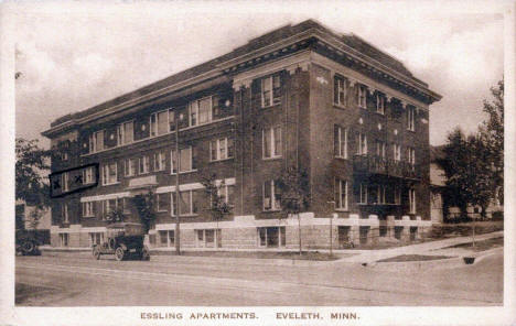 Essling Apartments, Eveleth Minnesota, 1934
