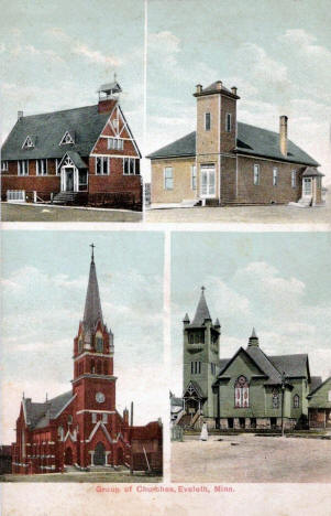 Churches, Eveleth Minnesota, 1910's