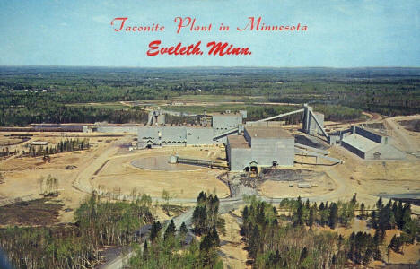 Taconite Plant, Eveleth Minnesota, 1970's