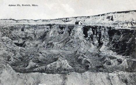Adams Pit, Eveleth Minnesota, 1910's