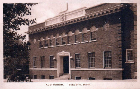 Auditorium, Eveleth Minnesota, 1935