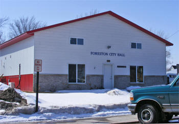 City Hall, Foreston Minnesota