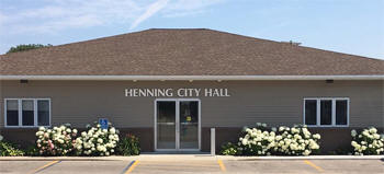 City Hall, Henning Minnesota