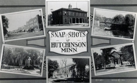 Snap Shots of Hutchinson Minnesota, 1923