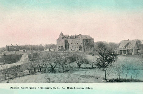 Danish-Norwegian Seminary, Hutchinson Minnesota, 1910's