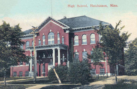 High School, Hutchinson Minnesota, 1911
