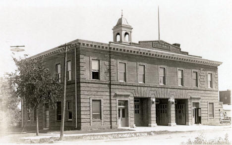 City Hall, Hutchinson Minnesota, 1920's