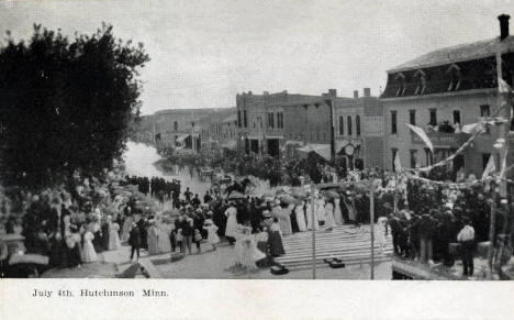 Independence Day Celebration, Hutchinson Minnesota, 1908