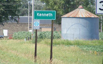 Sign, Kenneth Minnesota
