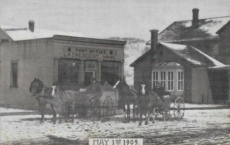 Post Office, La Crescent Minnesota, 1909