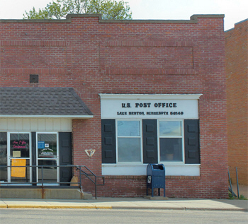 Post Office, Lake Benton Minnesota