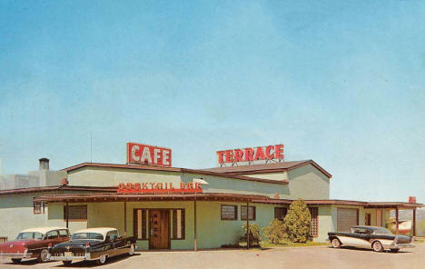 The Terrace Cafe and Supper Club, Lake City Minnesota, 1958
