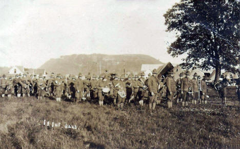 1st Infantry Band, Camp Lakeview, Lake City Minnesota, 1910's