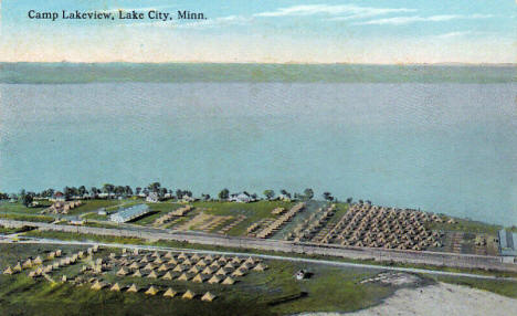 Camp Lakeview, Lake City Minnesota, 1910's