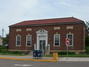 US Post Office, Litchfield Minnesota